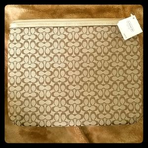 Authentic Coach tablet sleeve